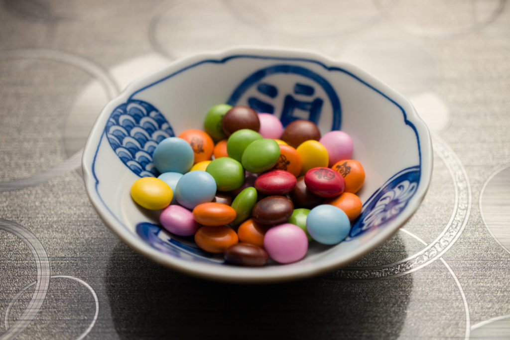 マーブルチョコレート(色補正語)
